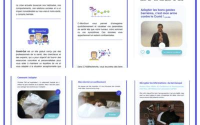 Info | La nouvelle web app gratuite Covidout.ch pour aider à préserver la santé mentale