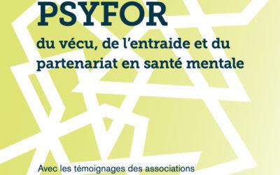 PSYFOR – Du vécu, de l'entraide et du partenariat en santé mentale